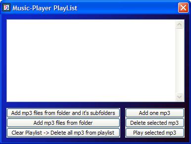 Music player step 3